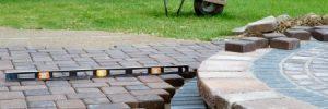 building a level patio